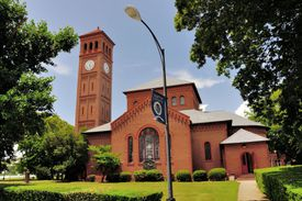 Memorial Church at Hampton University