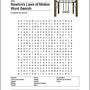 Newton S Laws Of Motion Homeschooling Exercises