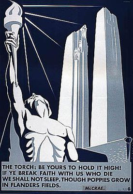 The Torch: Canadian World War II Poster