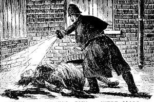 Jack the Ripper Illustration 1888