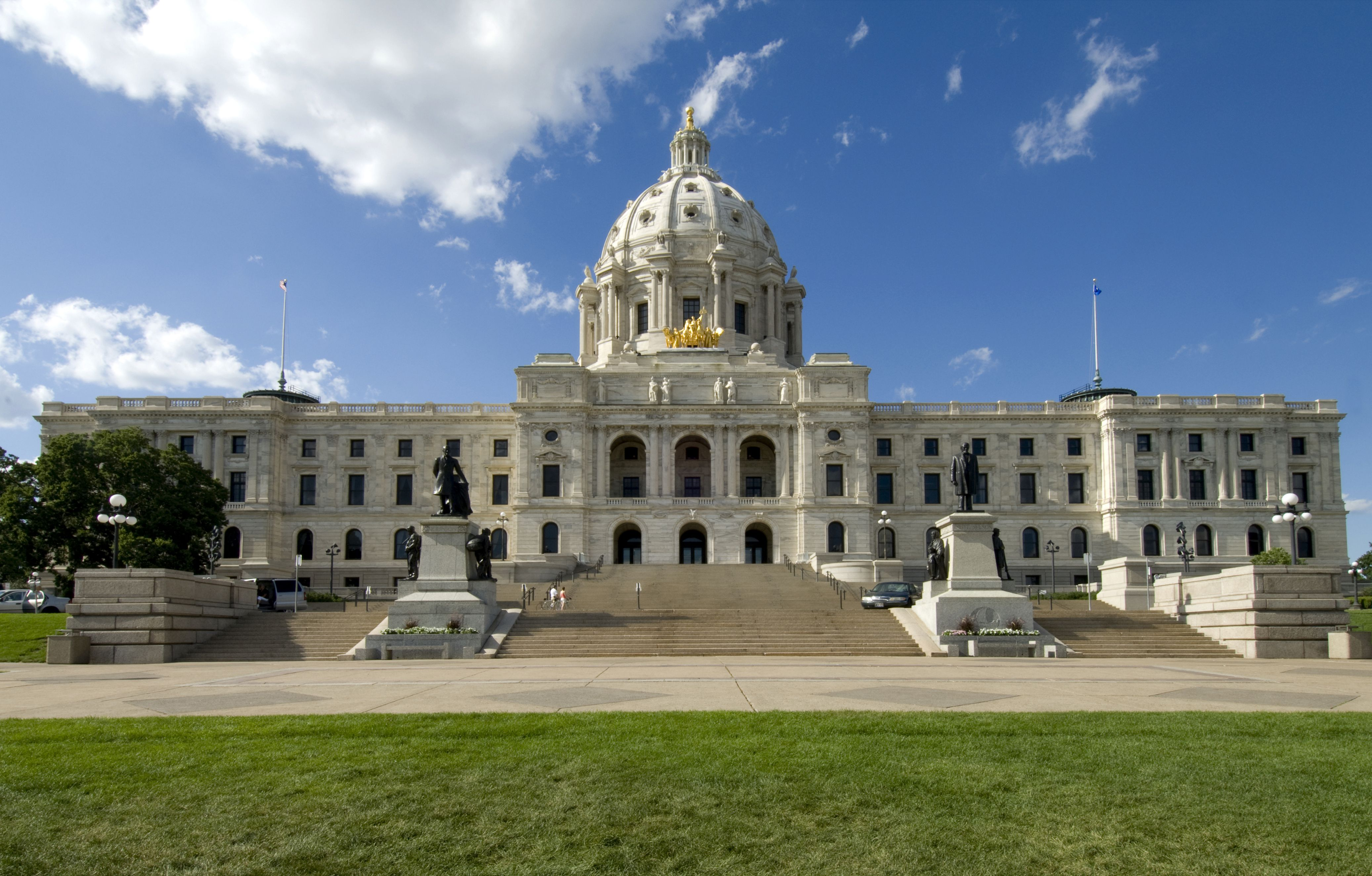 Cass Gilbert conçu Minnesota State Capitol, St. Paul, Minnesota
