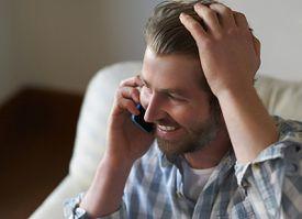 Man on the Telephone