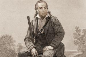 Engraved portrait of John James Audubon