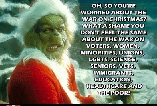 worried about the war on christmas