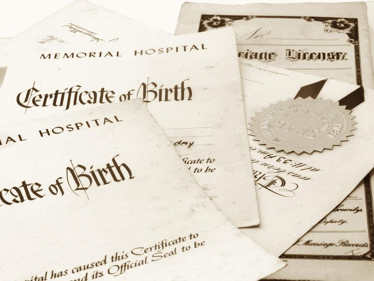Learn how to use vital records of birth, death and marriage to research your family history.