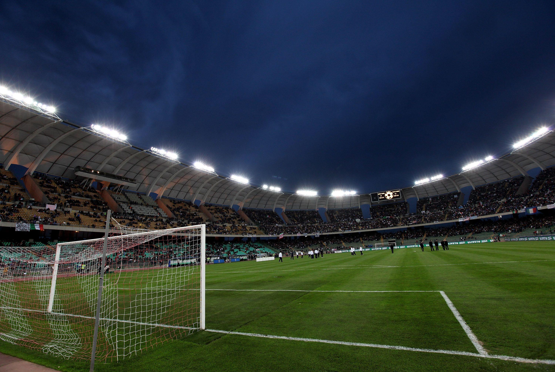 Inside San Nicola Stadium in Bari, Italy
