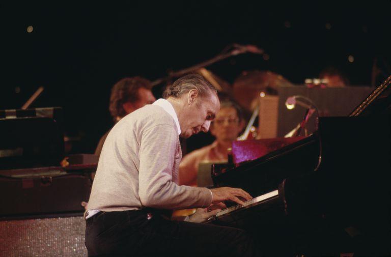 Henry Mancini performing