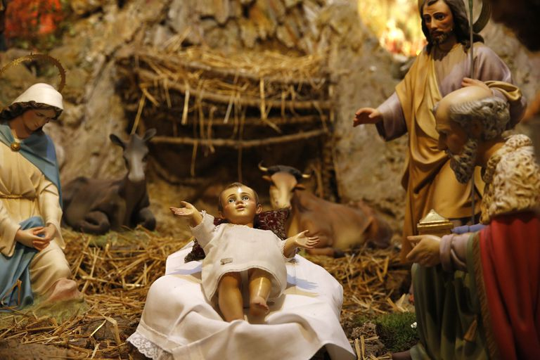 a prayer to jesus in the manger