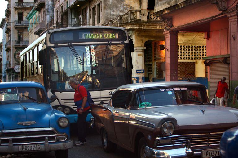 Views and People of Havana, Cuba