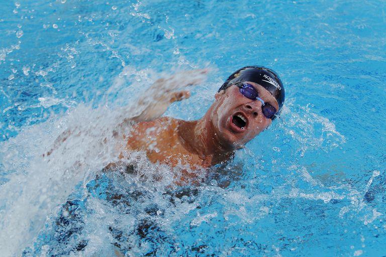 Swimming Open Turn