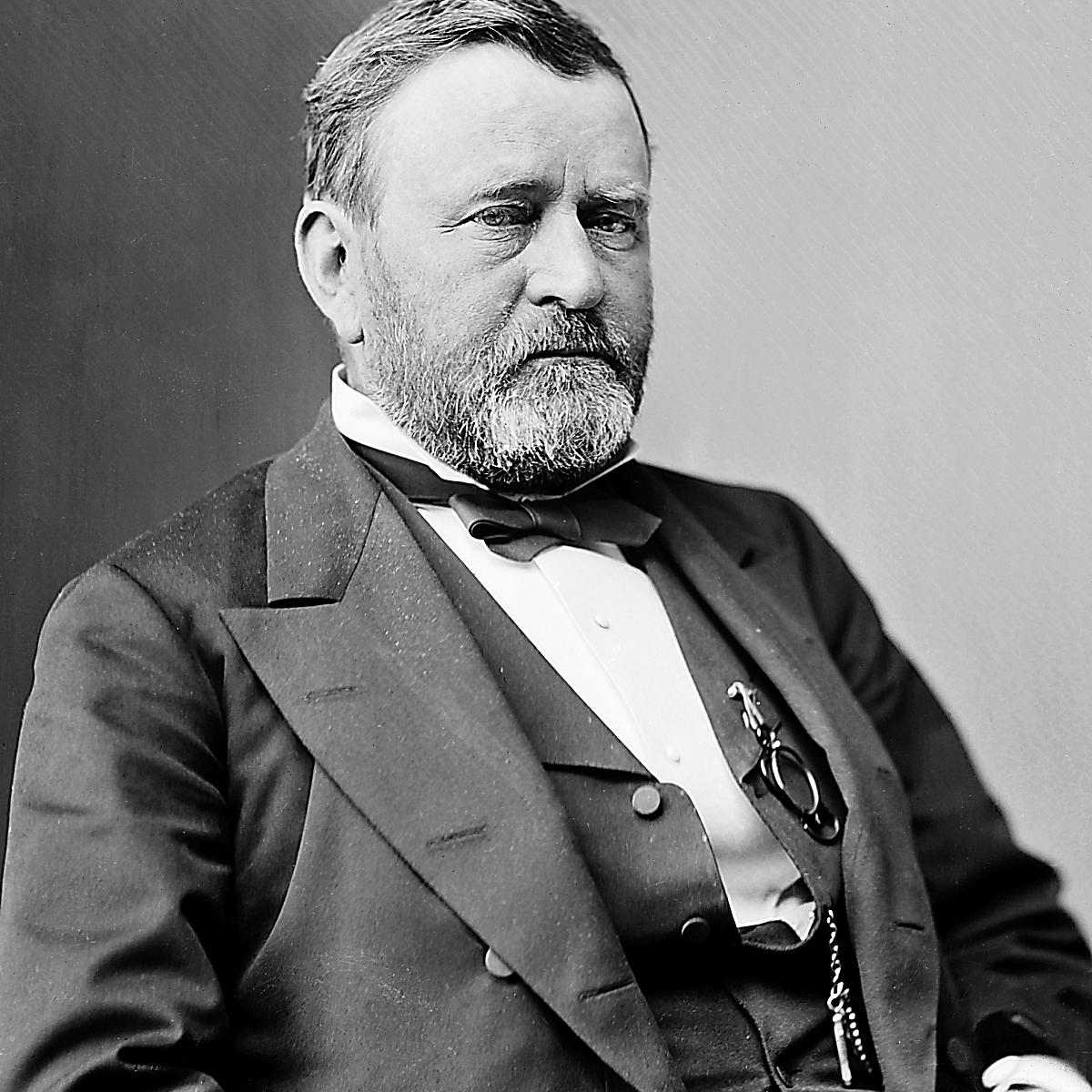 Ulysses S. Grant was among the youngest U.S. presidents in history.