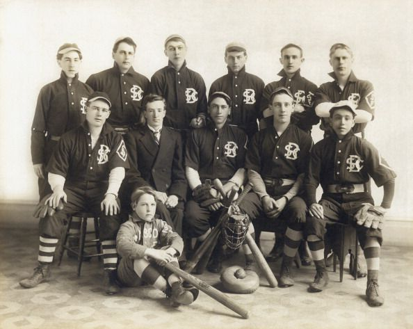 An Early SF Baseball Team