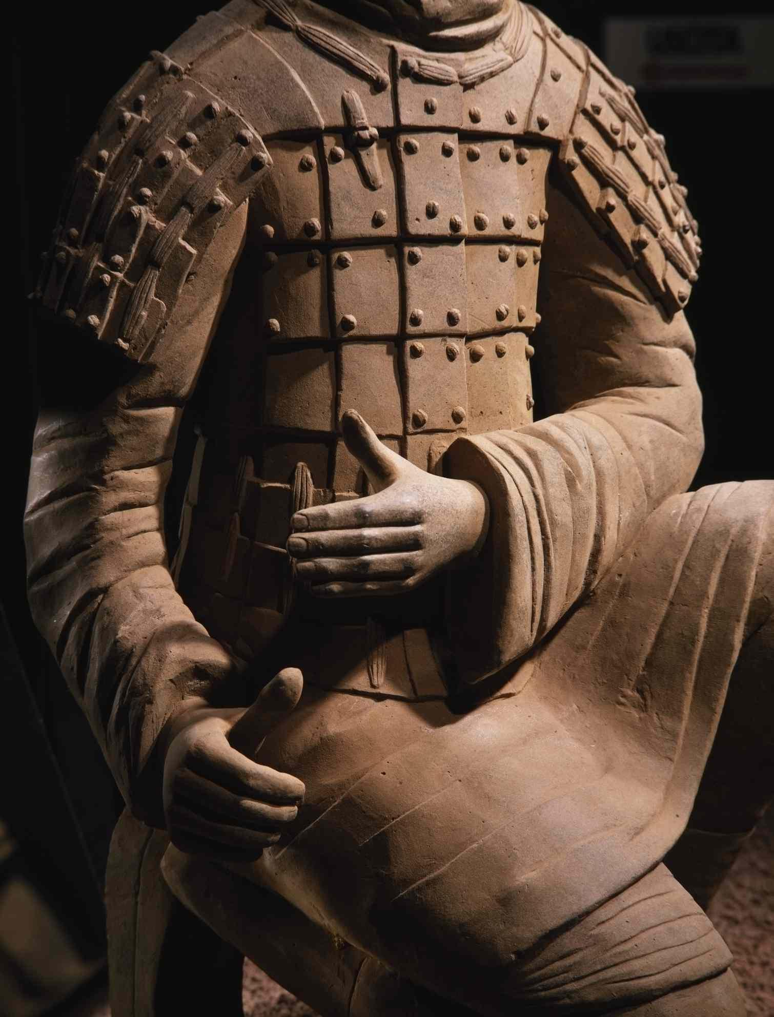 A Terracotta Army warrior