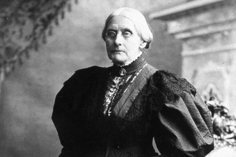 Susan B. Anthony, circa 1898