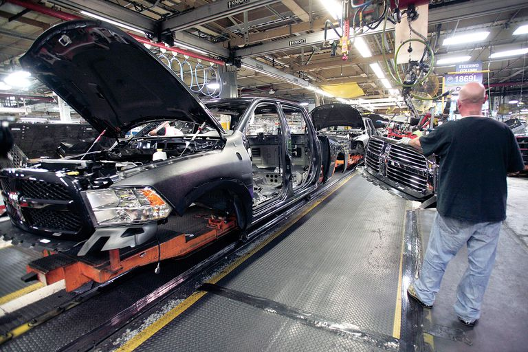Chrysler assembly line
