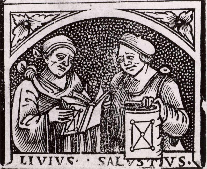 Sallust and Livy Woodcut