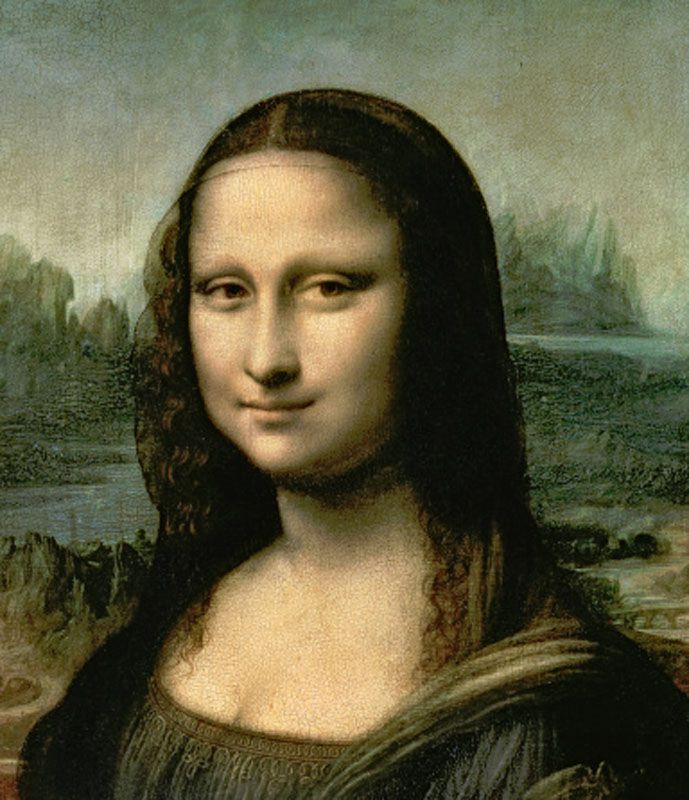 Leonardo's Painting of the Mona Lisa