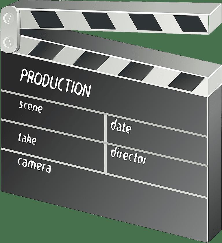 clap board - casting prop