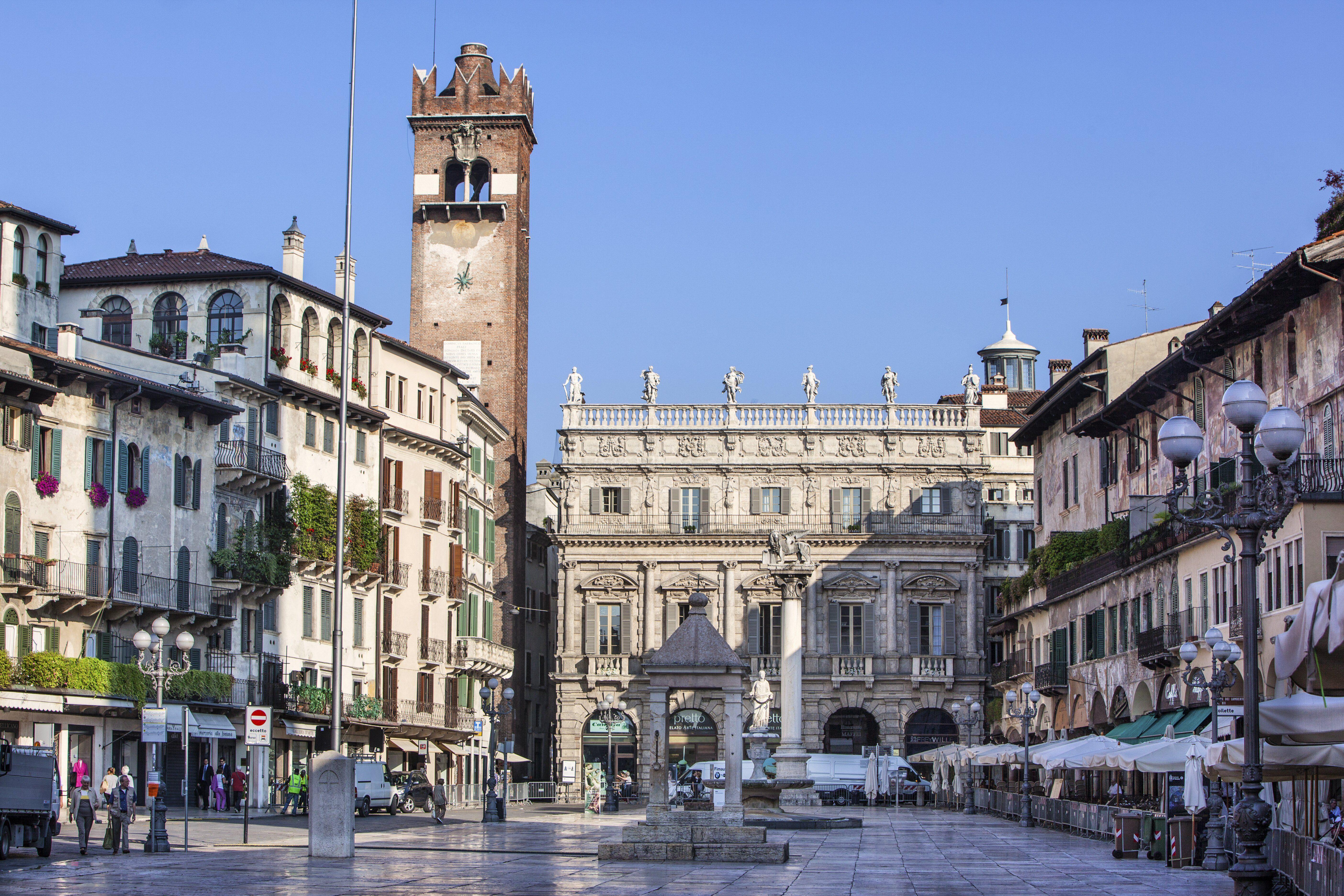 Photo of Piazza Erbe in Verona, Italy