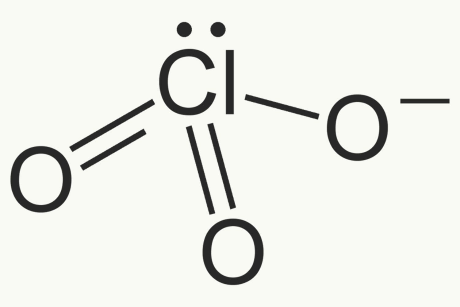 Chlorate anion