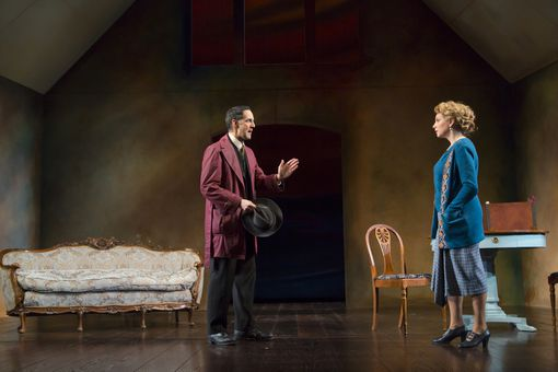 Nael Nacer and Andrea Syglowski in A Doll's House