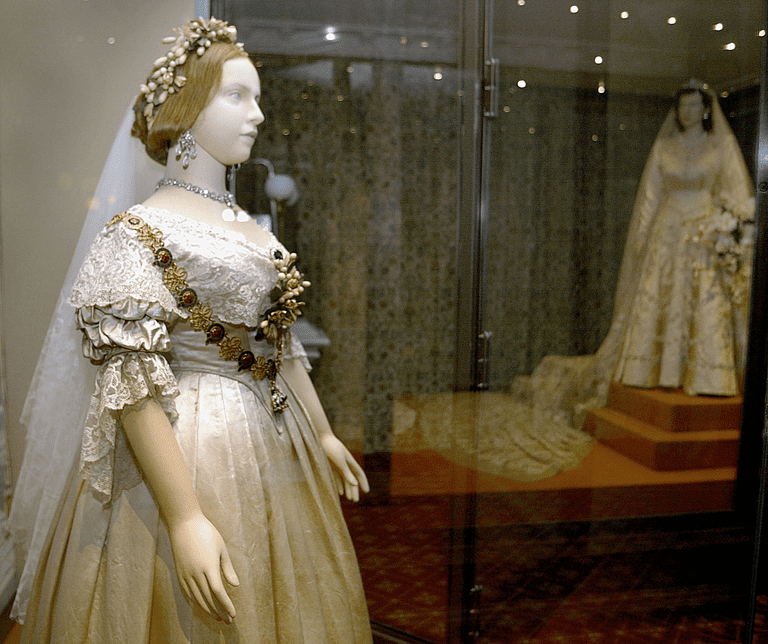 White Wedding Dress Queen Victoria: British Royal Weddings From Victoria To Kate Middleton