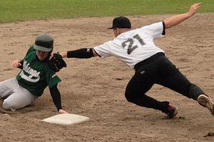 A softball game