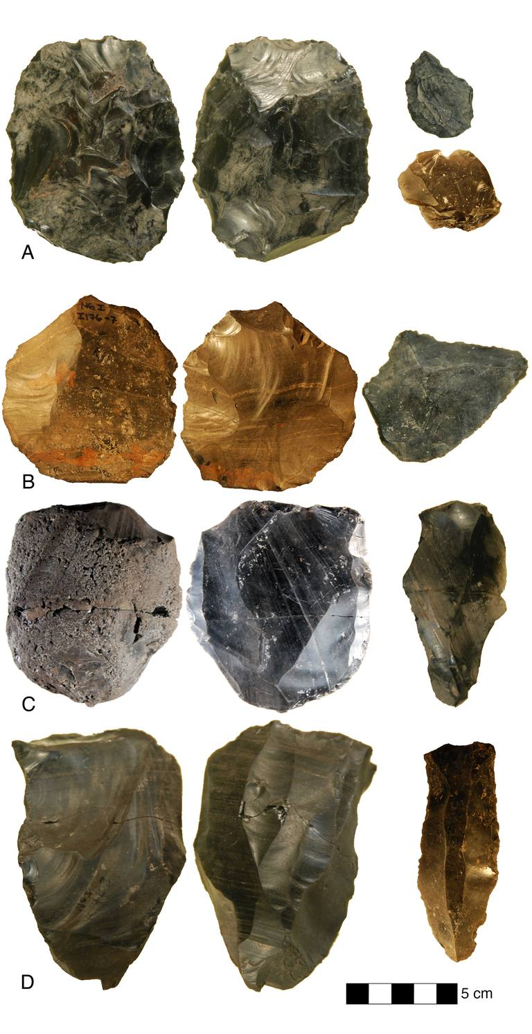 Levallois and Bifacial Tools from Nor Geghi 1