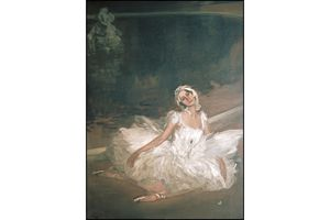 Anna Pavlova, in painting by John Lavery, 1911