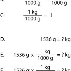 How to Cancel Units - Chemistry Metric Conversions