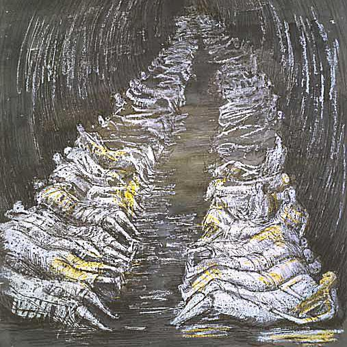 Henry Moore War Painting