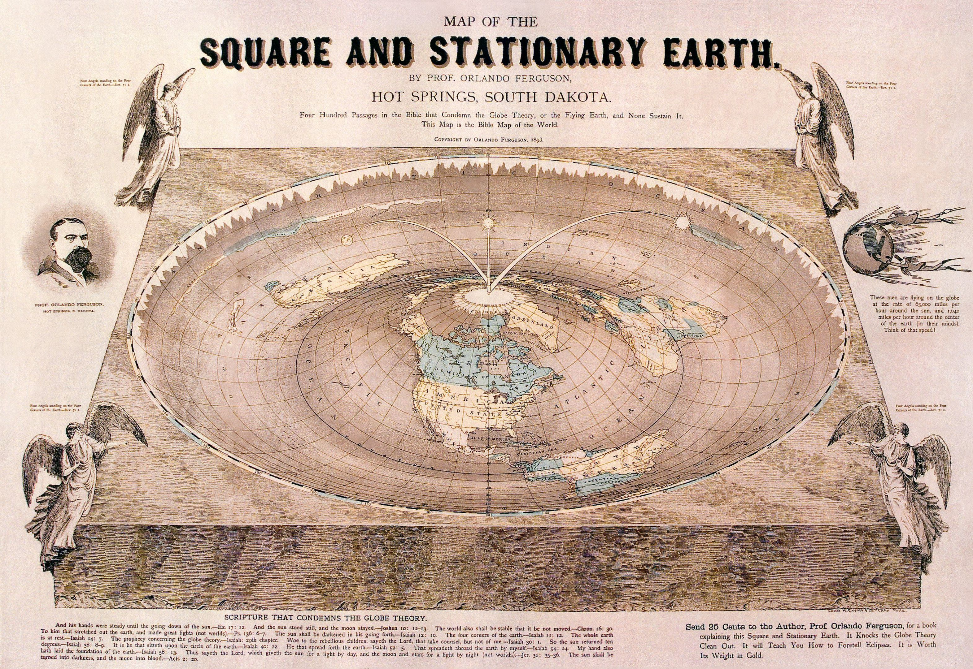 Did Meval People Think the Earth War Flat? on
