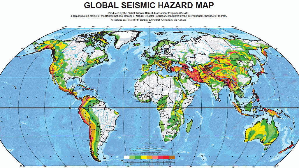 Major Earthquake Zones Worldwide on earthquake fault lines america, land use map of america, elevation map of america, blind map of america, english map of america,