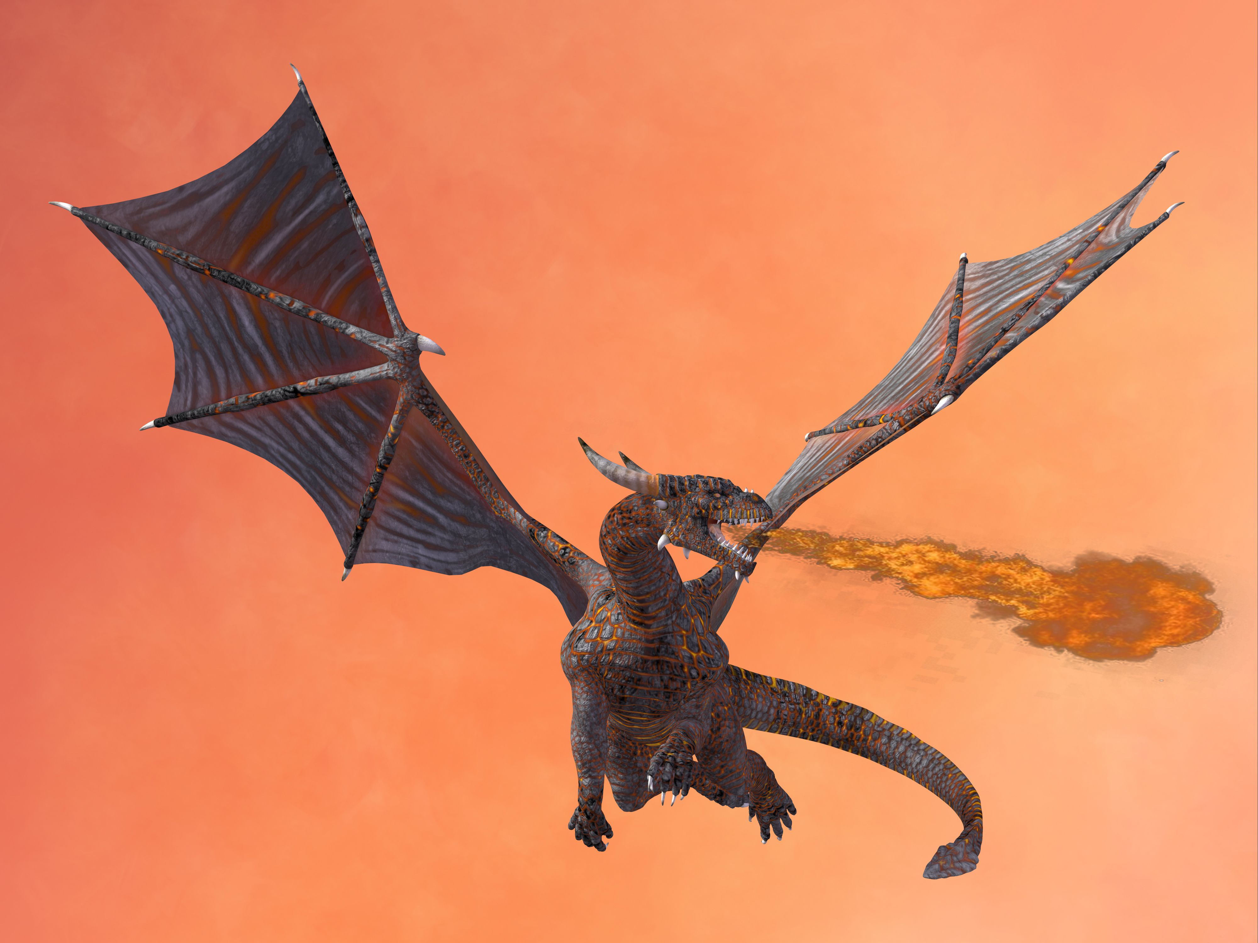 Real Fire Dragon: Flying And Fire Breathing Dragons: The Science