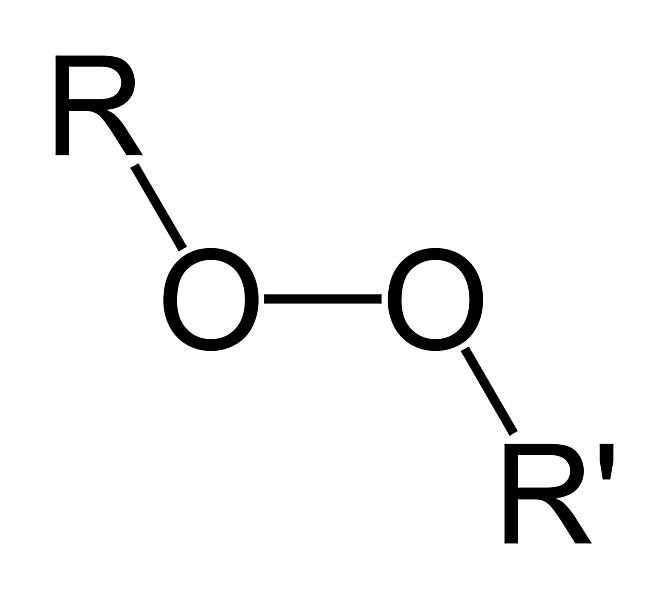 The formula for the peroxy functional group is ROOR. The peroxy group is based on peroxide.