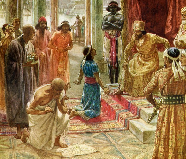 Daniel the Prophet Interprets Nebuchadnezzar's Dream
