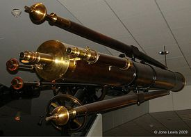 Maria Mitchell's Telescope - Picture from National Museum of American History, Smithsonian Institute