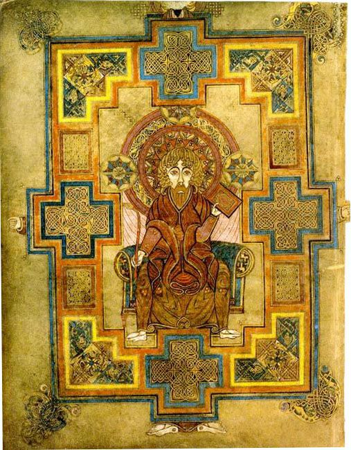 Images From The Book Of Kells