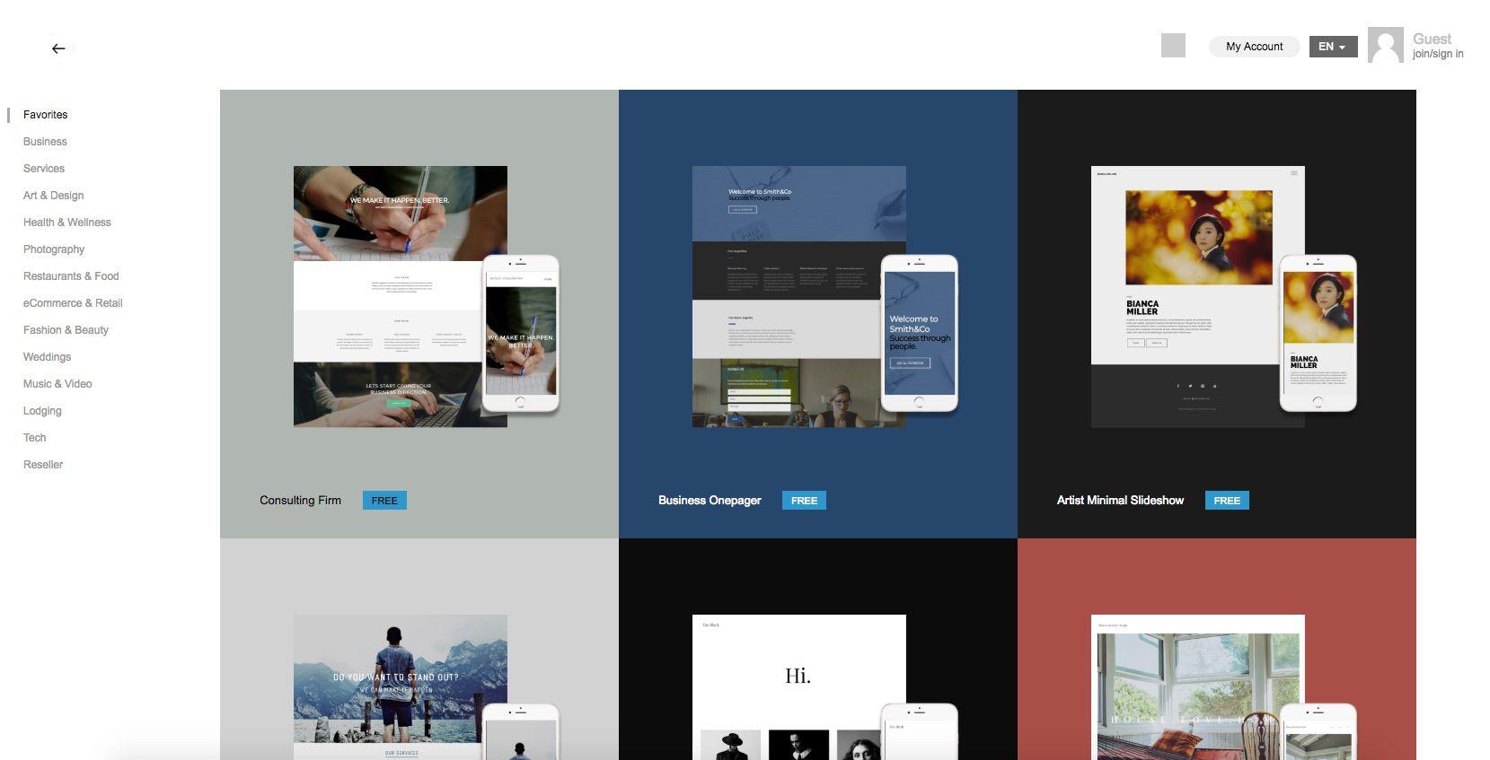 A screenshot of IMCreator.com.