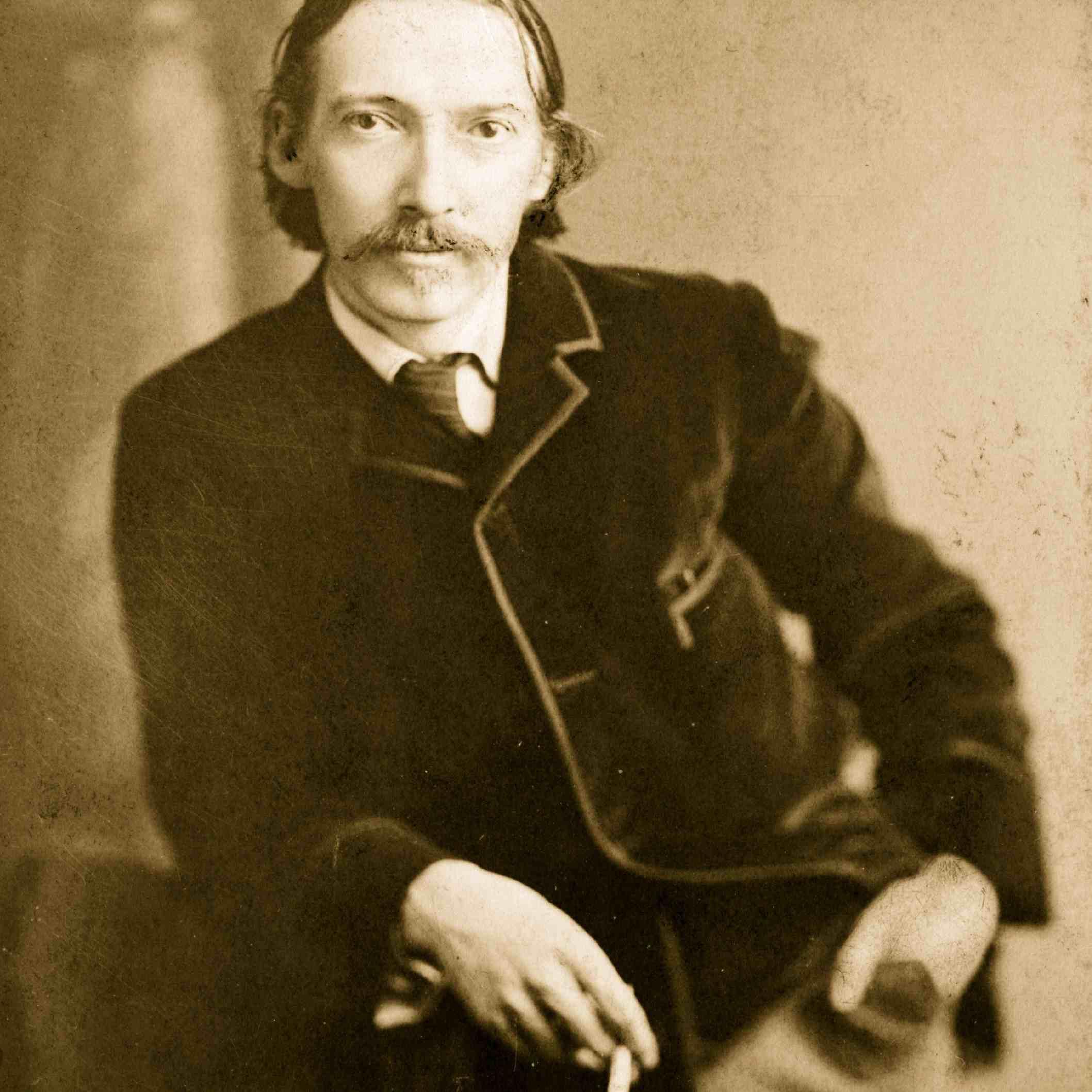 Robert Louis Stevenson in 1880