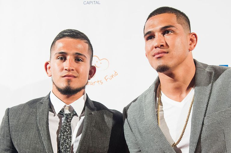 Sergio Pettis and Anthony Pettis