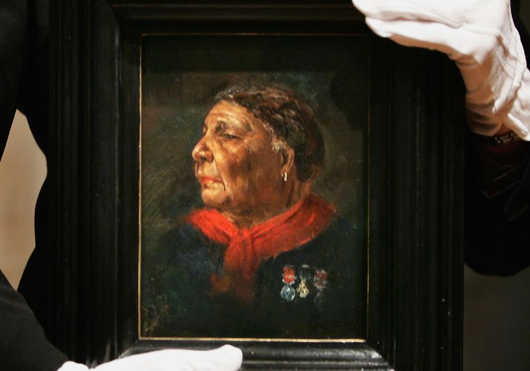 Lost Portrait Of Mary Seacole Unveiled At National Portrait Gallery
