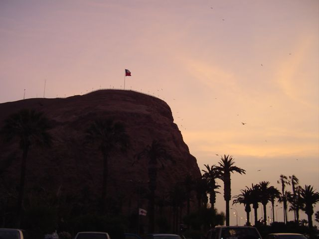 El Morro, in Arica, Chile, is the location of an important Chinchorro archaeological site.