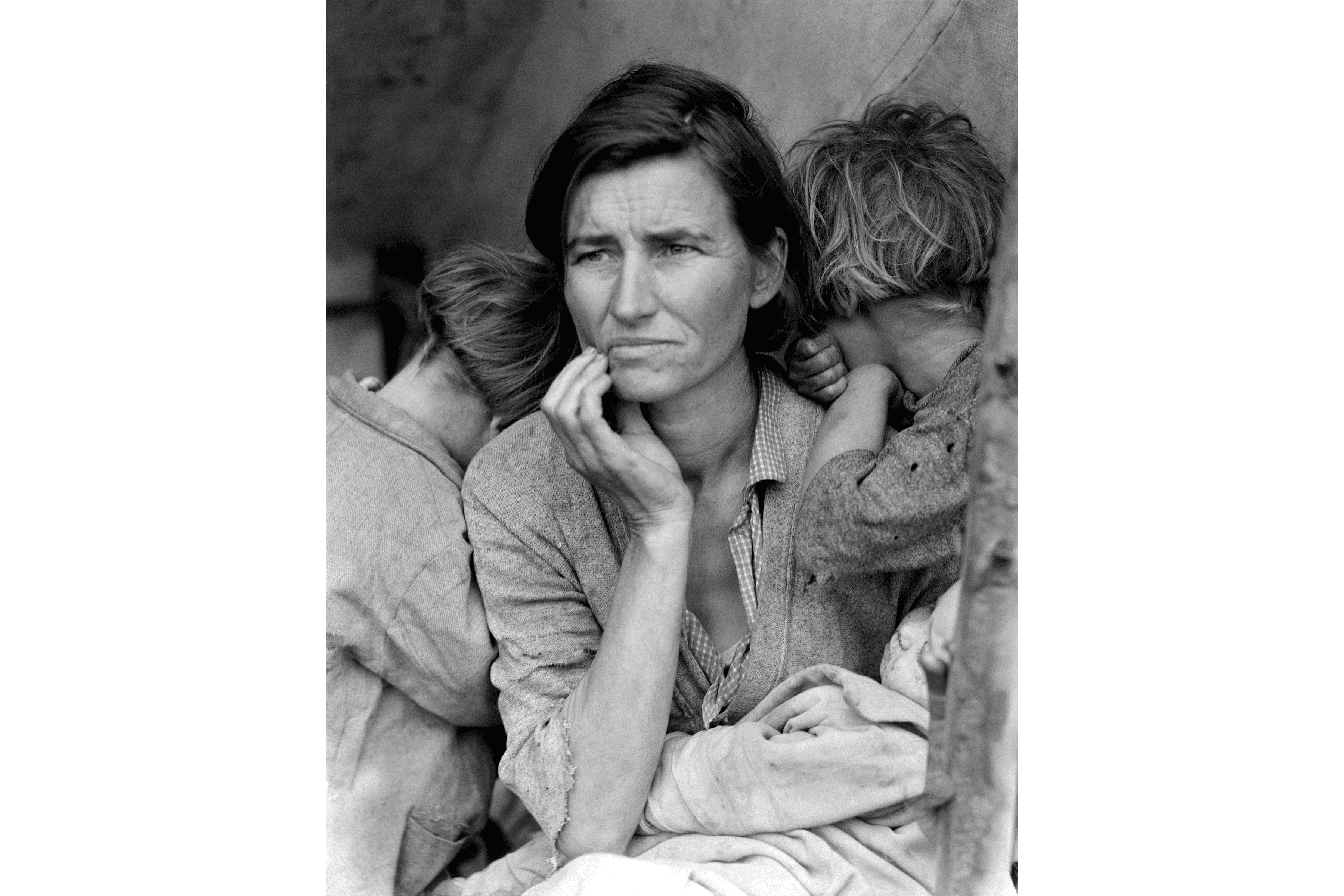 Migrant Mother by Dorothea Lange. Photograph.