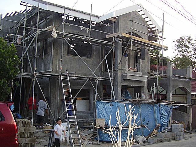 House Still Under Construction