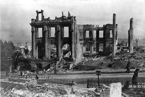 Ruins after San Francisco Earthquake