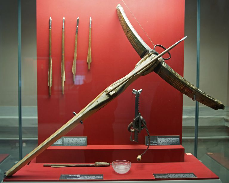 Heavy siege defence crossbow (Wallarmbrust) of Andreas Baumkirchner (d. 1471), c. 1460-70