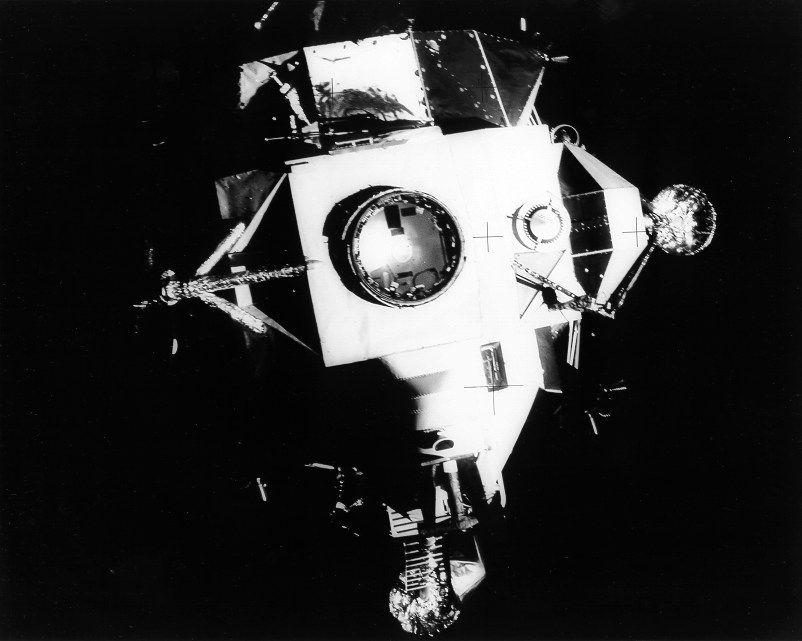 Apollo 13 and Aquarius capsule