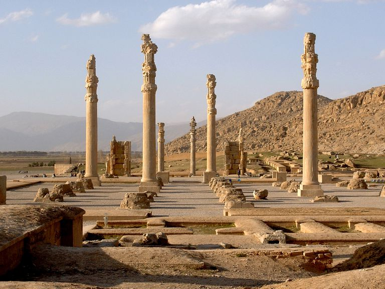 2,500 years old ruins of Persepolis in Iran