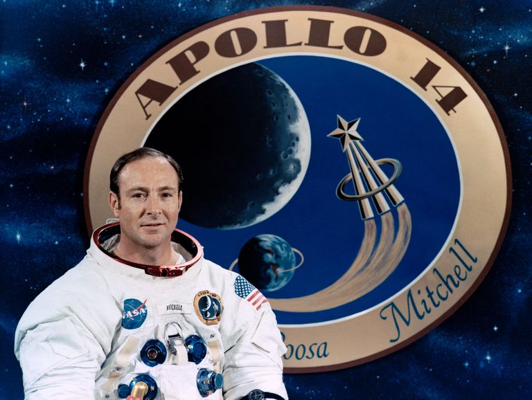 portrait of Edgar Mitchell